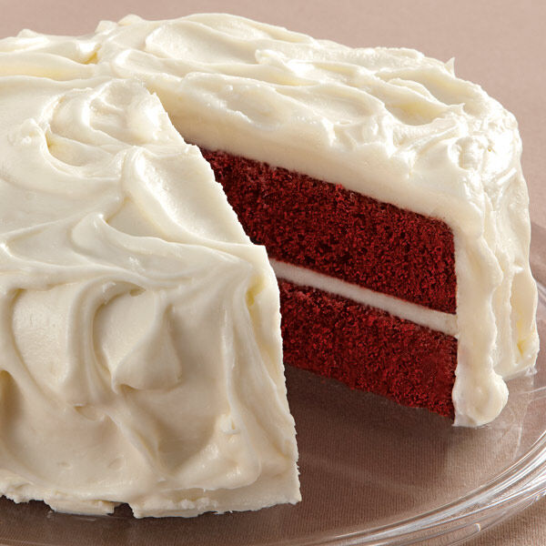 Red Velvet Cake With Cream Cheese Frosting Wilton