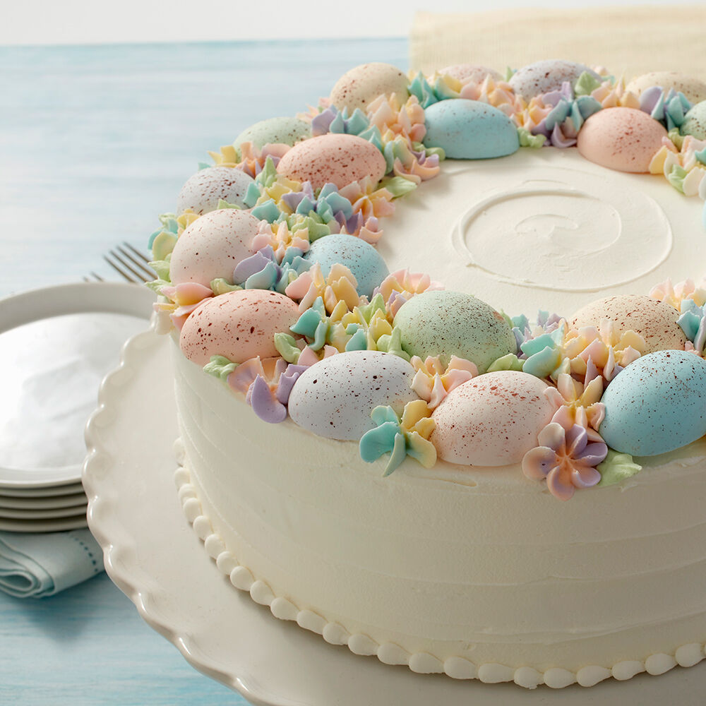 Speckled Egg Statement Cake   Wilton