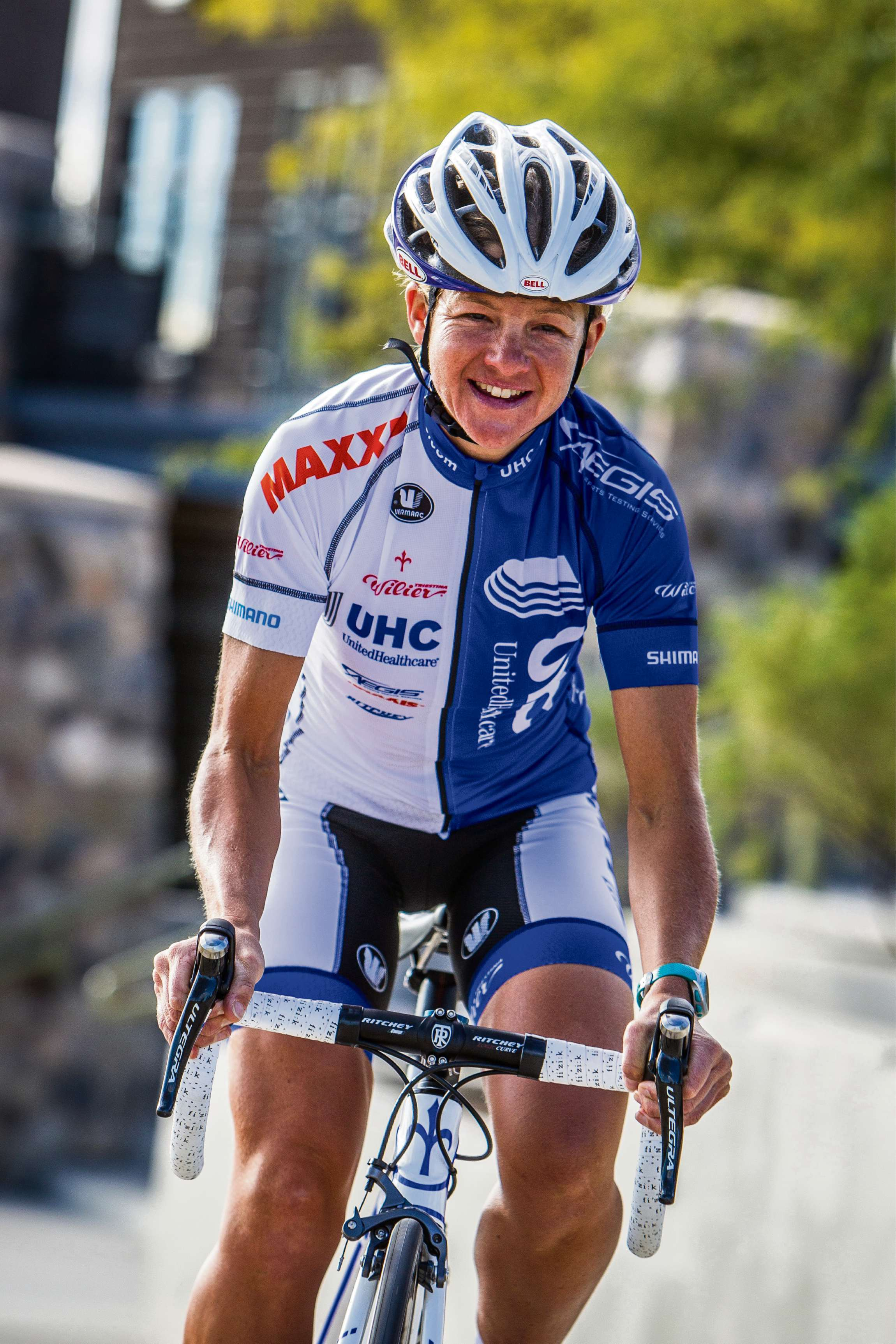 Wilts and Gloucestershire Standard: Sharon Laws of the UnitedHealthcare Pro Cycling Team