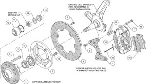 Wilwood High Performance Disc Brakes  1972 Ford Pinto