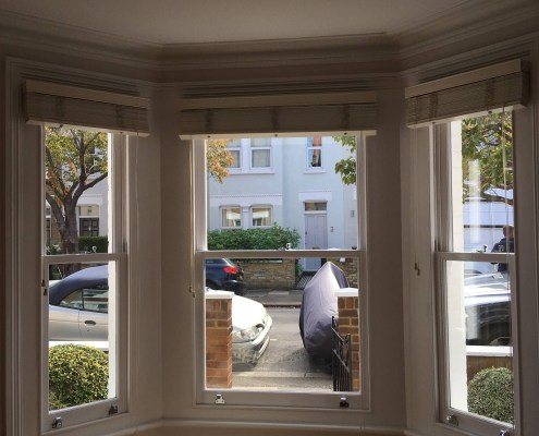 New Sash Windows Fitted to Living Room Inside