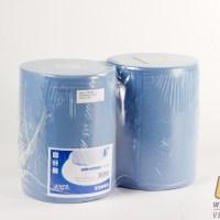 Industriepapier blauw 2-laags