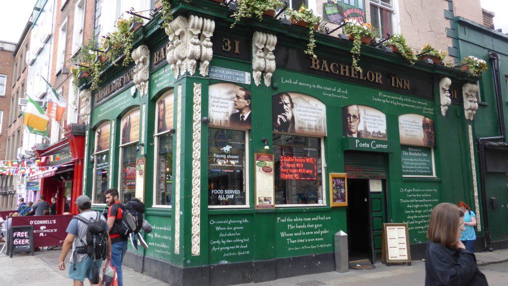 P1090486 Dublin - en hier hebben we gegeten