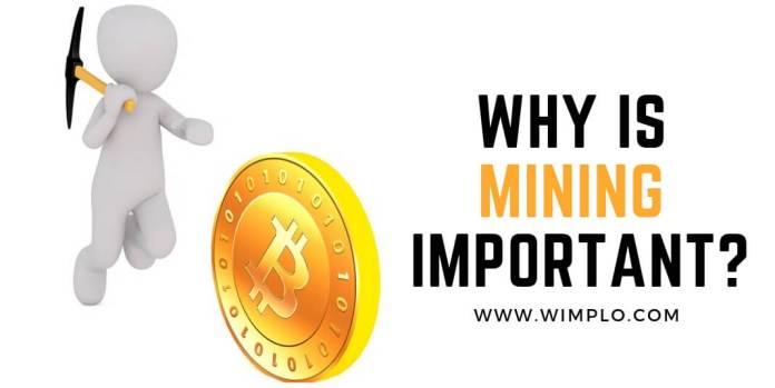 Why is mining important?
