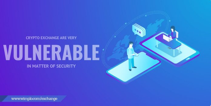Cryptocurrency Exchange security