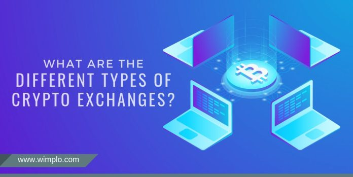 What are the different types of crypto exchanges?
