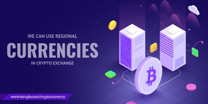 Using regional currencies in crypto exchanges