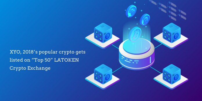 Popular crypto XYO listed on LATOKEN exchange