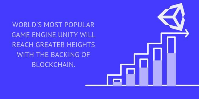 World's most popular game engine Unity will reach greater heights with the backing of blockchain.