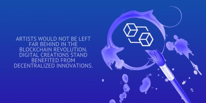 artists would not be left far behind in the blockchain revolution. digital creations stand benefited from decentralized innovations.