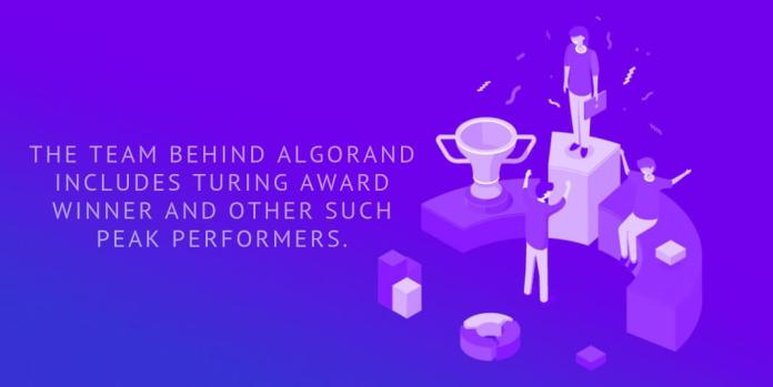 The team behind Algorand includes Turing Award winner and other such peak performers.