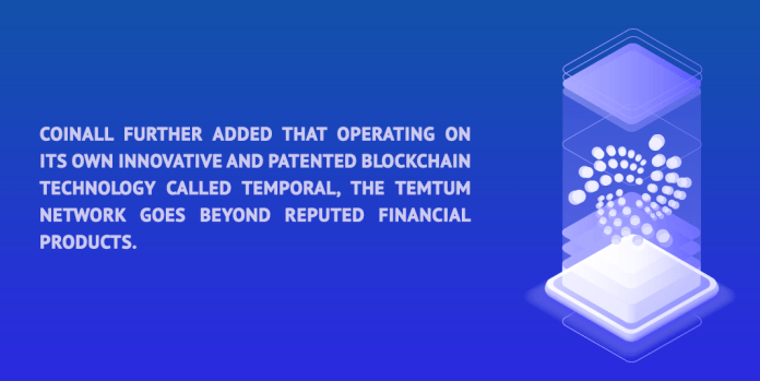 Temtum goes beyond reputed financial financial products.