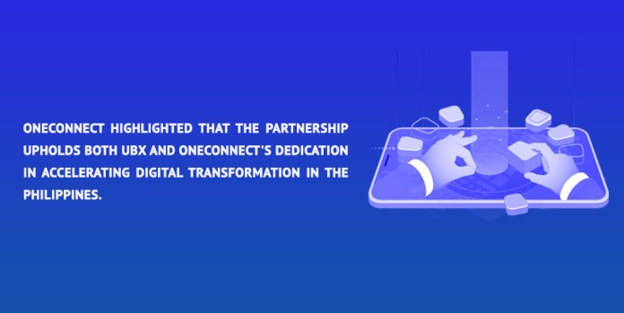 OneConnect highlighted that the partnership upholds both UBX and OneConnect's dedication in accelerating digital transformation in the Philippines.