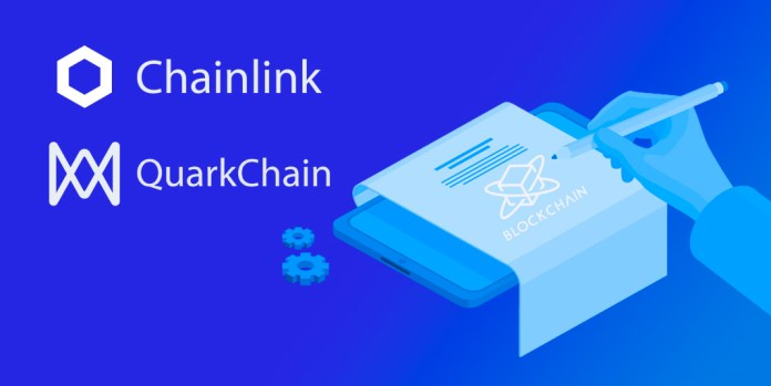 QuarkChain integrates Chainlink to advance blockchain apps