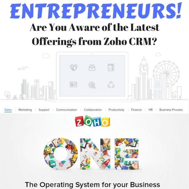 Entrepreneurs Zoho CRM