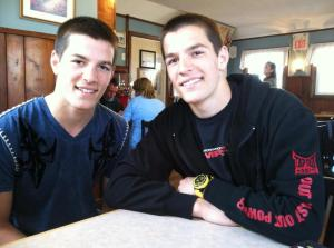 Andrew and Christian Labrie