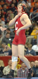 Kyle Dake ended his career at Cornell last March becoming the first college wrestler to win four NCAA titles at four different weights in four straight years.