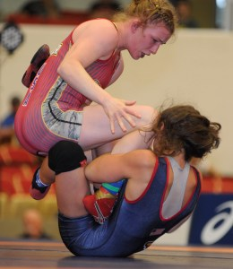 Whitney outscored Michaela Hutchison 21-0 in two championship bouts.