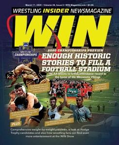 WIN Magazine - cover