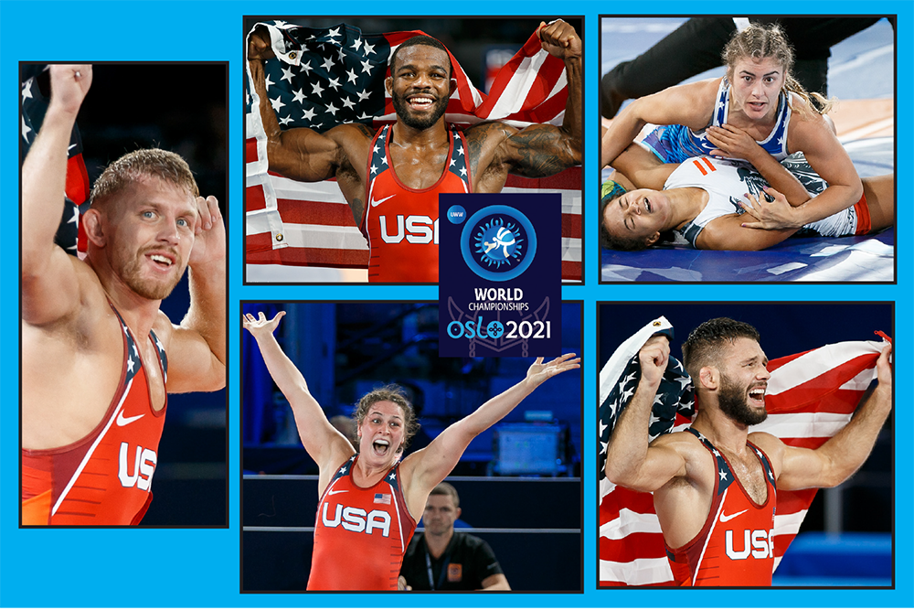 USA's five World champs made 2021 even more special in Norway
