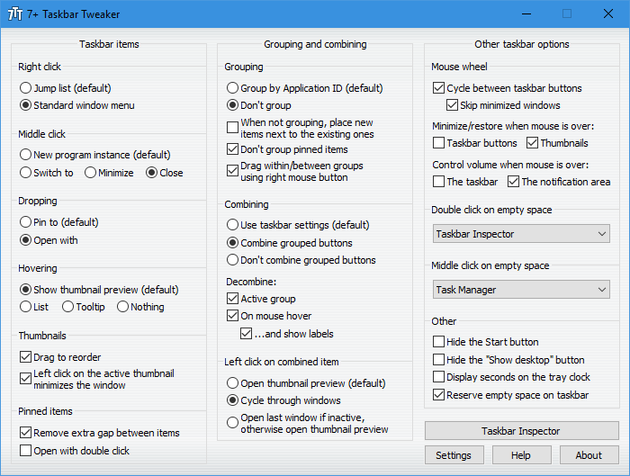 7-Taskbar-Tweaker