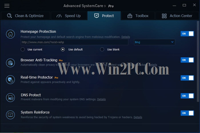 Advanced SystemCare 9 Key 2018-pic-Win2PC