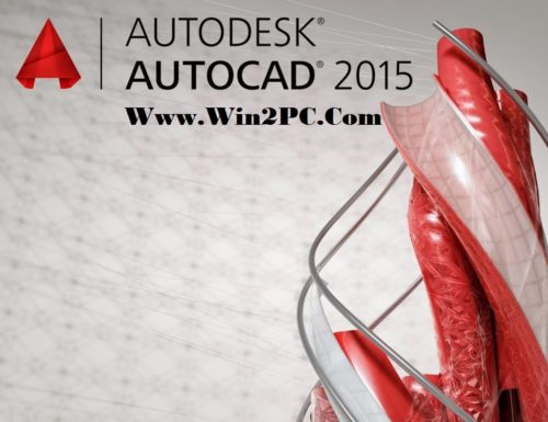 AutoCAD 2015 Crack-Cover-Win2PC
