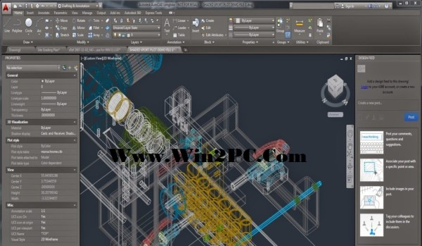 AutoCAD 2015 Crack-mai-Win2PC