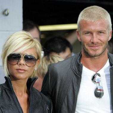 David et sa femme Victoria Beckham