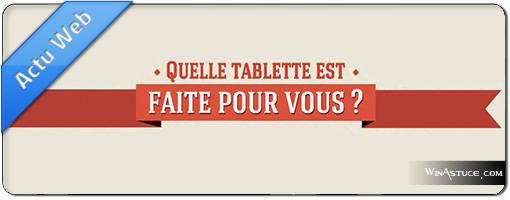 Actu tablette tactile