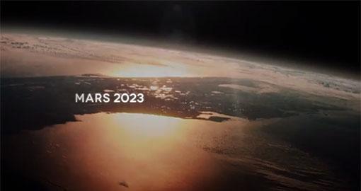 Voyage pour Mars en 2023