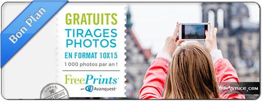 FreePrints, ou comment imprimer 1000 photos/an gratuitement