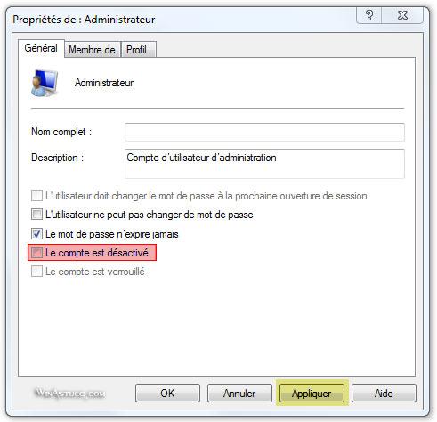 Activer le mode Super Administrateur de Windows 8