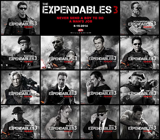The Expendables 3 - Le casting