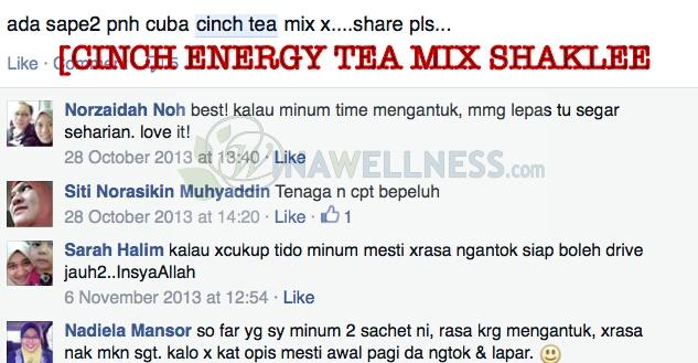 Image result for testimoni cinch tea shaklee