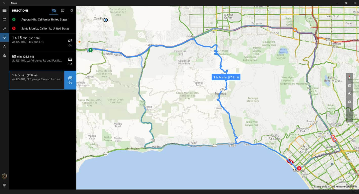 Windows Maps now remembers where you parked, and can serve up multiple routes | On MSFT