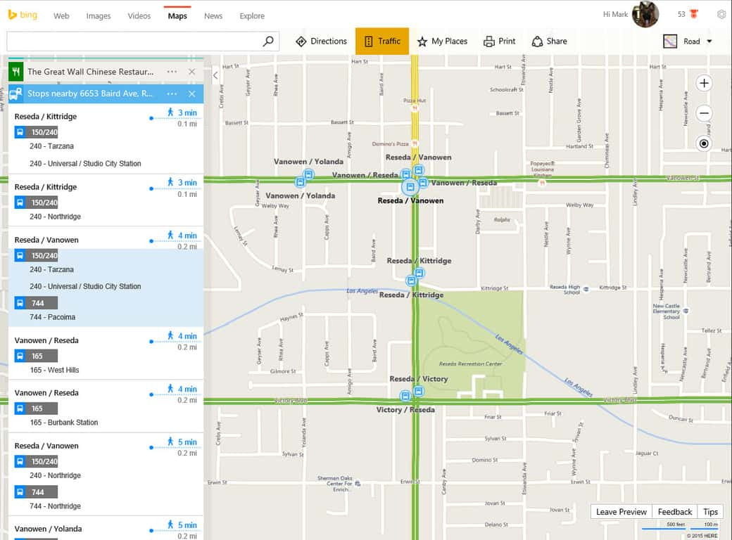 Bing Maps Now Lets You Plan Your Transit Trips As Easily
