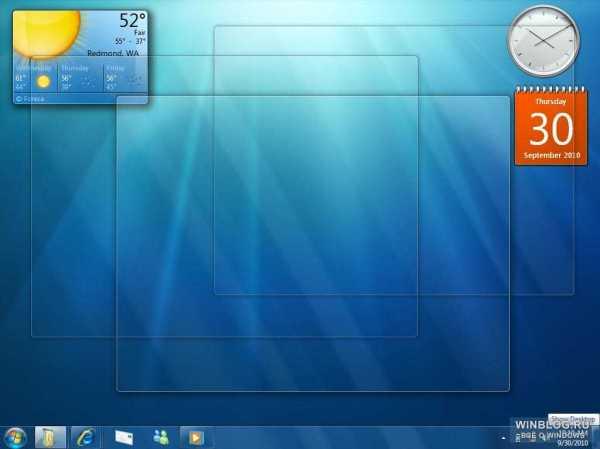 Фотографии предварительного релиза бета версии Windows 7 ...