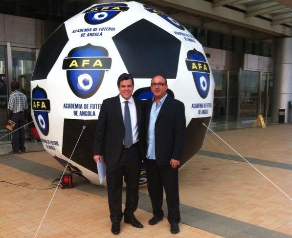 Jose Luis Garrido y Toni Cortes en el Forum AFA 2013