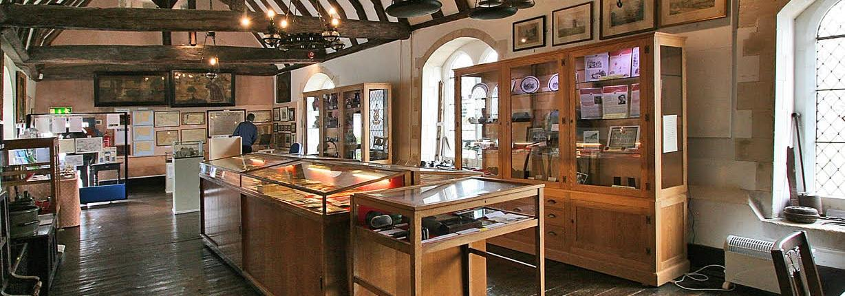 interior pano shot of Winchelsea Court Hall Museum