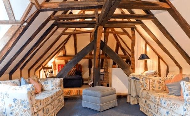 the retreat attic