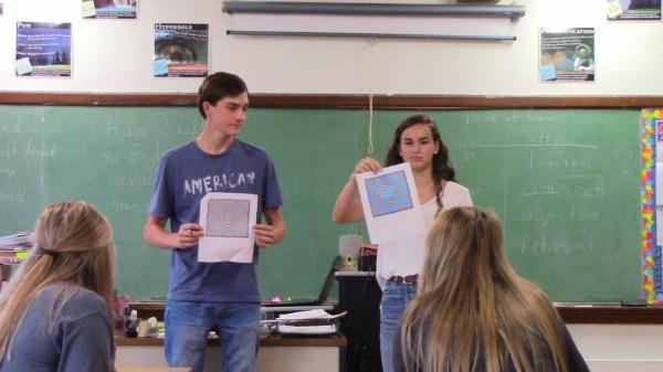 optical illusions school presentation # 67