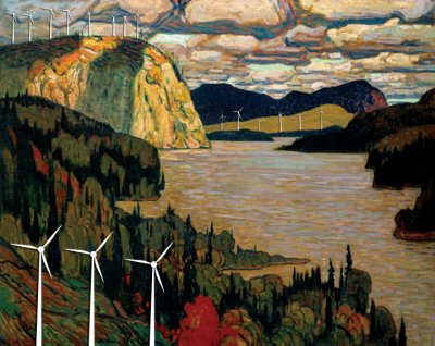 Two wind power projecst approved for Ontario's world-famous Algoma region, showing the Ontario government has no regard for the environment, whatsoever