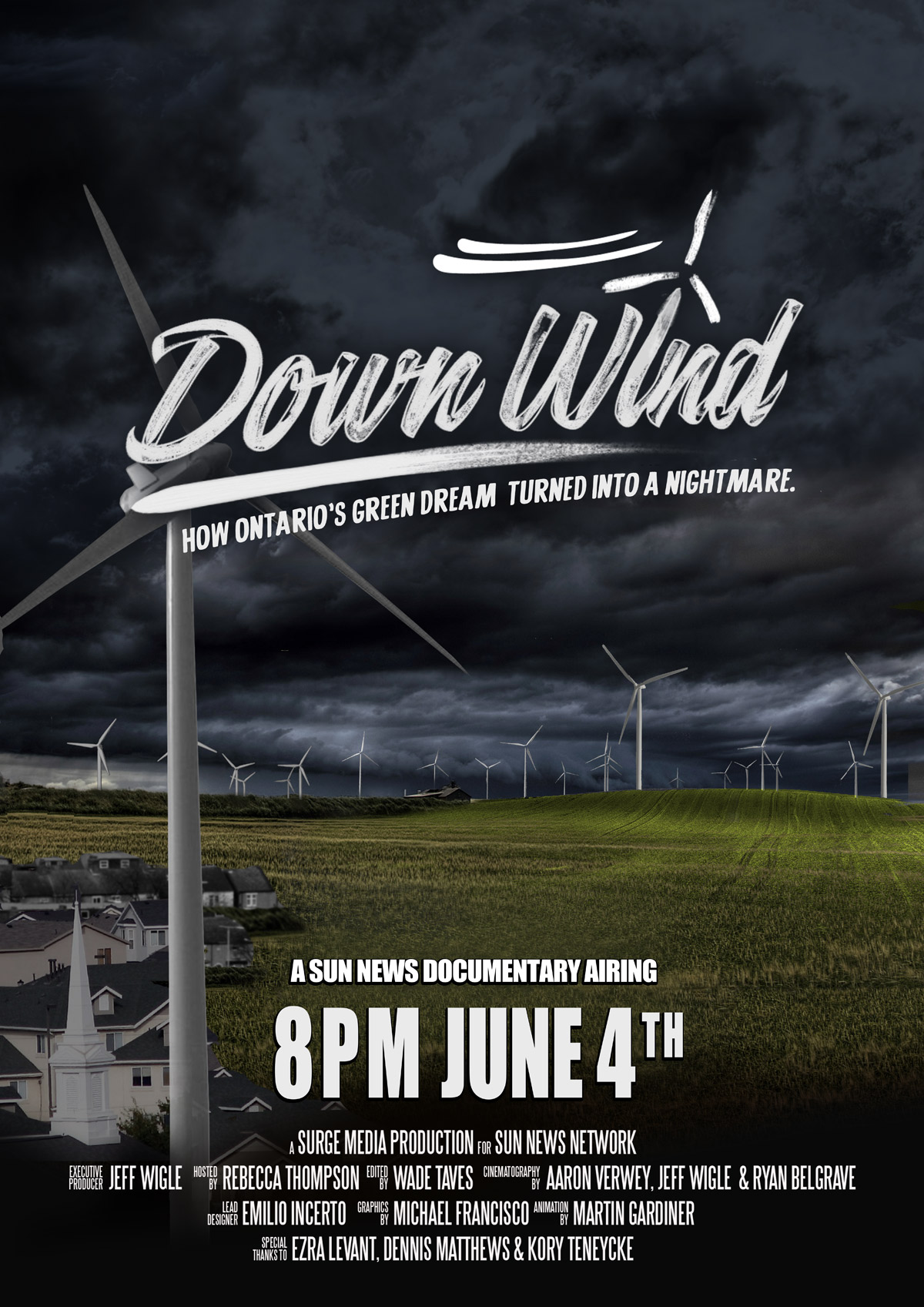Sun Media's Down Wind doc film with Rebecca Thompson attracts $30,000 in crowd-funding in days