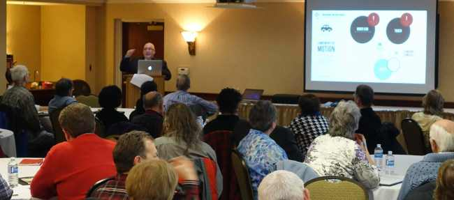 Telling people wind turbines do not affect health is wrong, Kevin Dooley tells Wind Concerns Ontario conference in Guelph