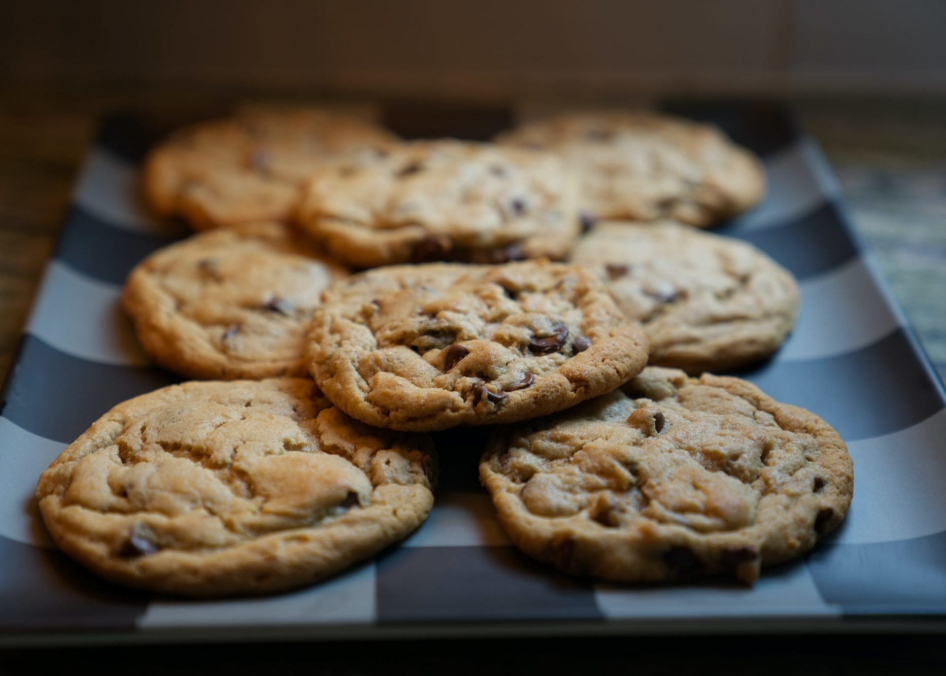 Zuckerfreie Chocolate Chip Cookies