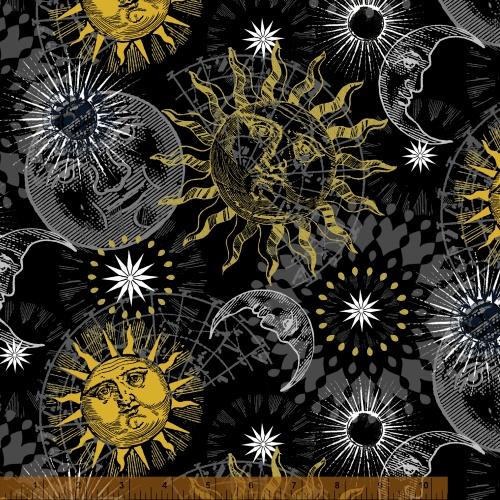 Celestial, 39582M-2, Windham Fabrics
