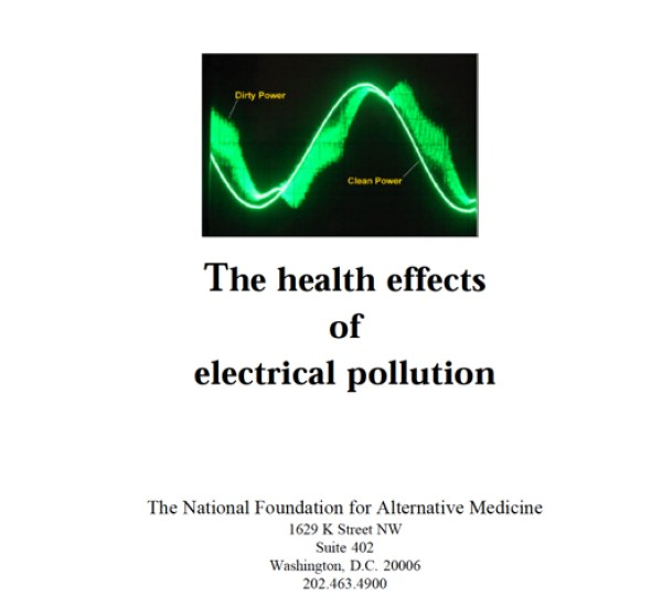 Health Effects of Electrical Pollution page