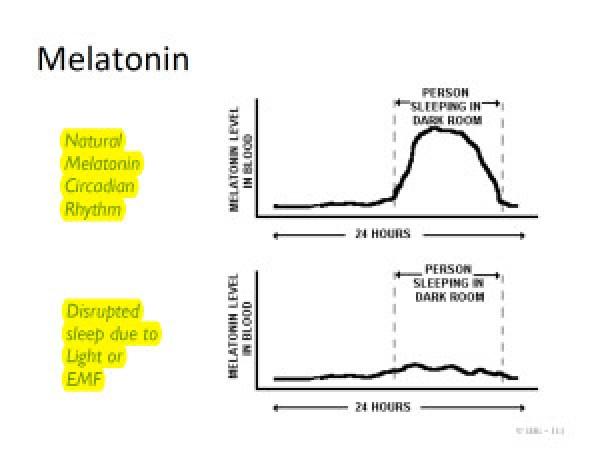 Melatonin EMF