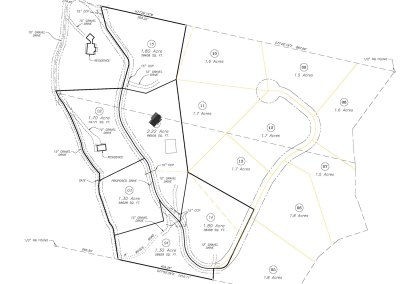 Winding Creek Farm Lot Overview